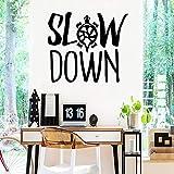 WSYYW Pegatinas de pared lentas lindas Personalidad Habitación creativa para...