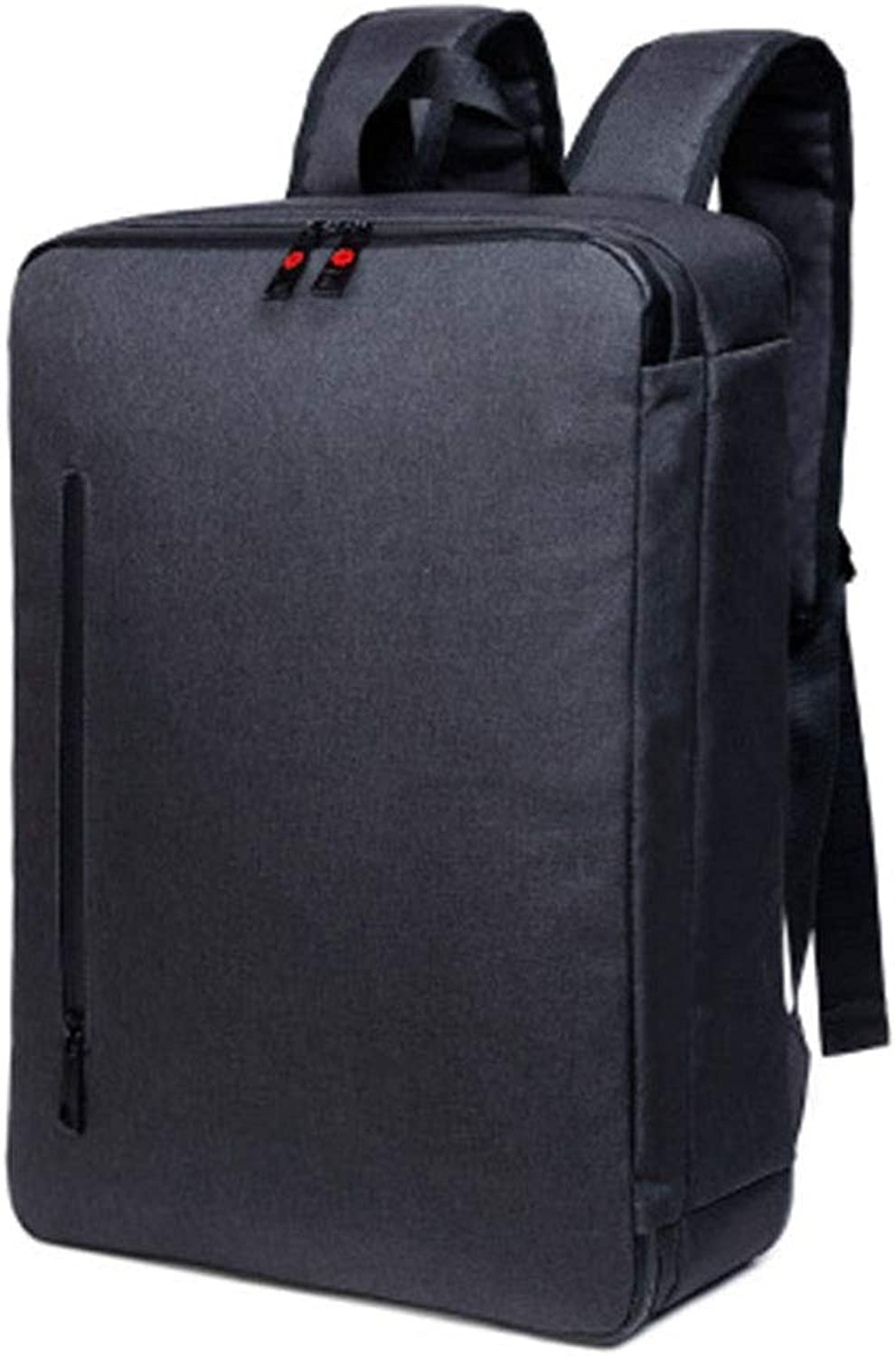 Business MultiFunction Backpack, Threeuse Laptop Bag, Men's College Student Bag Oxford Backpack Suitable for Going to Work,Black