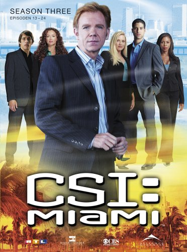 CSI: Miami - Season 3.2 (3 DVDs)