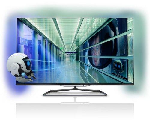 Philips 47PFL7008K/12 119 cm (47 Zoll) Fernseher (Full HD, Triple Tuner, 3D, Smart TV)