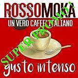 Ross omoka lungo Crema Intenso, 100Cápsulas Nespresso compatible, Café expreso italiano