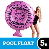 BigMouth Inc. Whoopee Cushion Pool Float – Gigantic Whoopee Cushion Pool Float That Measures Over 4 Feet, Funny Inflatable Vinyl Summer Pool or Beach Toy, Makes a Great Gift Idea