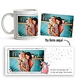Fotoprix Taza Personalizada con Foto y diseño 'Amor SIN Normas' | Regalo Original LGBT - Free Love |...