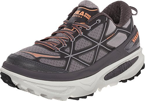 HOKA ONE ONE Women's W Mafate 4 Pavement/Gull Running (10.5 B(M) US)