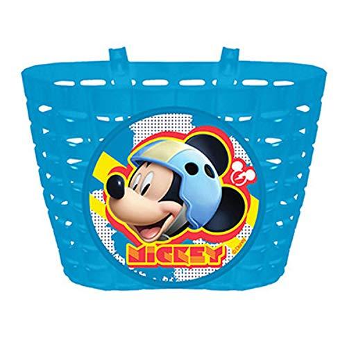 Disney Jungen Mickey Mouse Fahrradkorb, Mehrfarbig, S