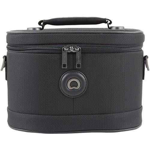 Delsey Chatelet Soft borsa da toilette 31 cm nero