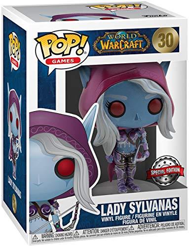 World of Warcraft Lady Sylvanas (Blizzard 30th) (Metallic) Vinyl Figur 30 Unisex Funko Pop! Standard