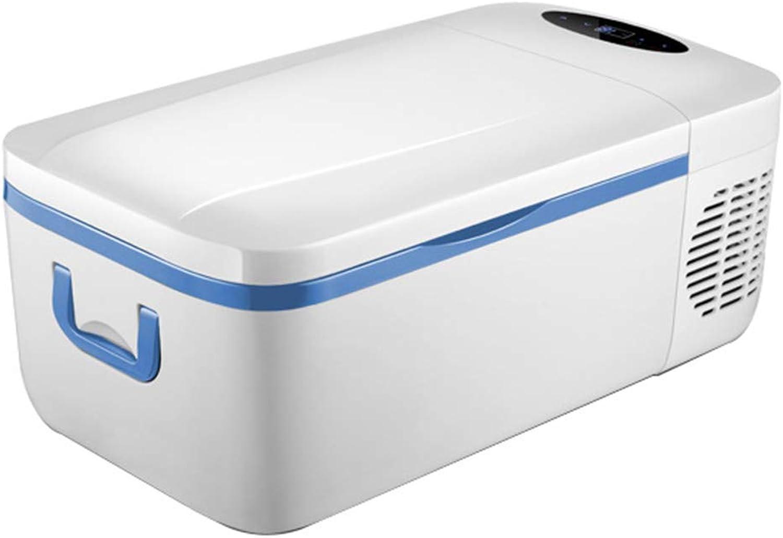 Car Refrigerator Peaceip 12l Car DualUse Touch Screen Mute Shockproof Handle Handle Compressor Refrigerator for Car Truck Rv Ship Dc12v 24v 220v