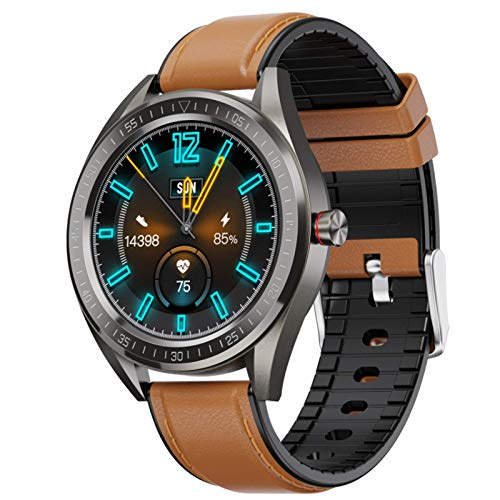 Unisex Smart Watch IP68 Impermeable Fitness Sport Smart Watch Reloj Inteligente Pulsera, Bluetooth Llamada bidireccional (Color: C)
