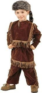 Kidcostumes Daniel Boone Davy Crockett Costume with Raccoon Skin Cap (Small / 4-6)