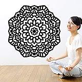 hetingyue Lotus Mandala Yoga Studio Boho Bohème Maroc Lit Mur Art Chambre Design D'intérieur Décoration 57x57 cm