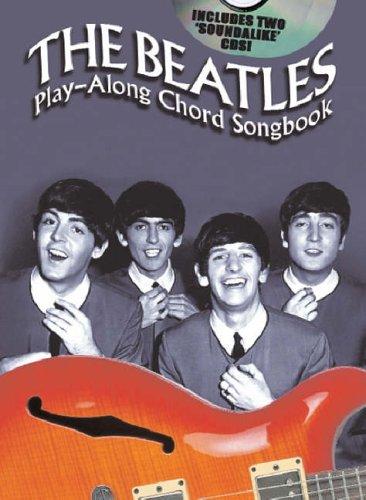 Beatles, The Playalong Chord Songbook (Book & 2CDs): Songbook, CD (2) für Gitarre