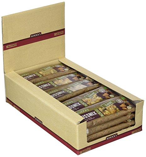 Schocks Nussmix Einzelriegel, 24er Pack (24 x 37 g), 2602