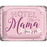 Nostalgic-Art 26197 Word Up - Hotel Mama, Blechschild 15x20 cm