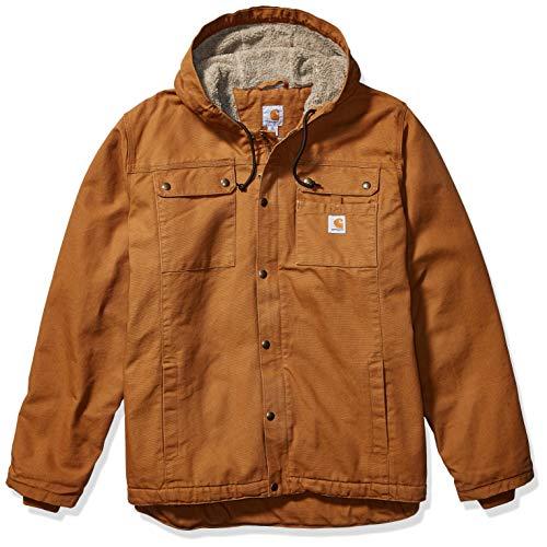 Carhartt Herren Bartlett Jacket Arbeitsoberkleidung, Brown, XL