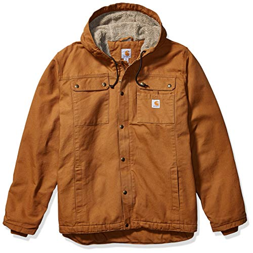 Carhartt Bartlett Jacket Giacca, Brown, 2XL Uomo