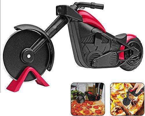 Tang Yuan Motorrad Pizza Cutter,Pizza Cutter,Edelstahl Pizza Roller,Kreative Werkzeuge,Exquisite Küche Geschenk