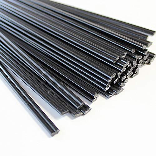 Barras de soldadura de plástico Negro PE ABS PP PPR para producto de plástico Fijos Barras de soldador Palitos de pistola de aire caliente Soldadura Estación de soldadura de parachoques Barras de sold
