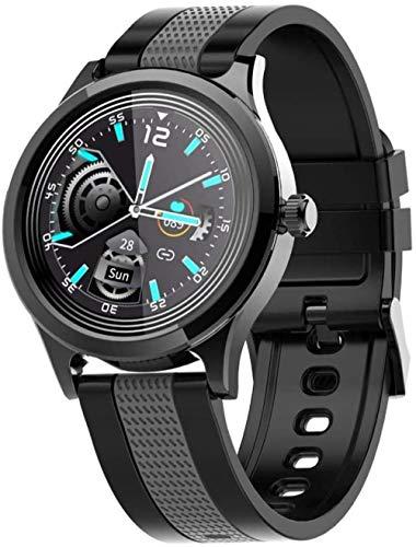 Fitness Activity Tracker Smart Watch Pulsera Deportes Presión arterial Frecuencia Cardíaca Termómetro Podómetro Impermeable Hombres Mujeres Banda D