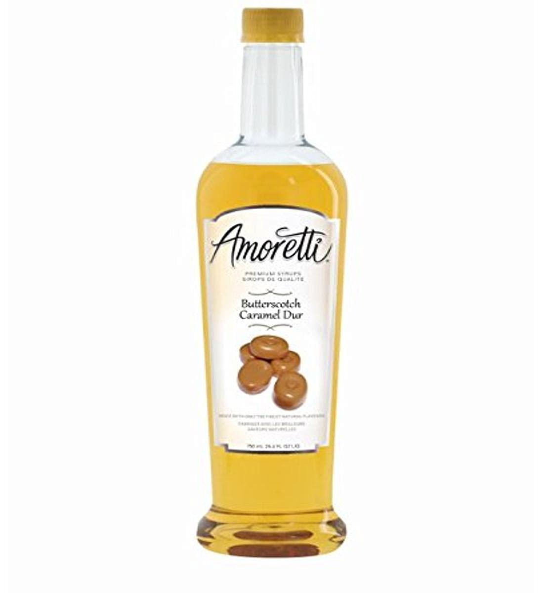 Amoretti Premium Syrup, Butterscotch, 25.4 Ounce