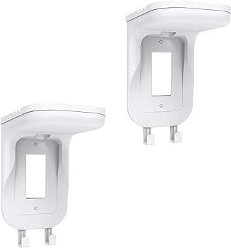 2-Pack WALI Smart Speaker Outlet Shelves