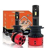 Alta LPW mini tipo LED de la linterna del coche H4 Bombillas H7 H11 / H8 H1 9005 9006 880 H3 60W / set 5500K automático de faros antiniebla (Socket Type : 9007 High Low)