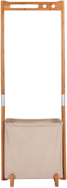 Bamboo Coat Rack Floor Combination Hanger Creative Minimalist Modern Hanger