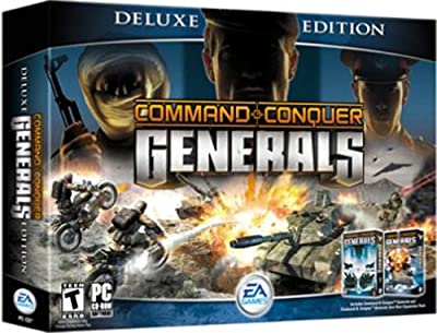 Command & Conquer: Generals Deluxe - C&C Generals & Zero Hour Expansion Pack