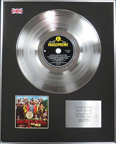 The Beatles – Edition Limitée – CD Platine disque – Sgt poivre