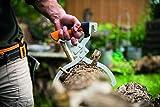 Fiskars Handpackzange zur Holzbearbeitung, Inklusive Köcher, Schwarz/Orange, WoodXpert, 1003625 - 4