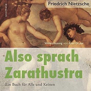 Also sprach Zarathustra: Ein Buch für Alle und Keinen Titelbild