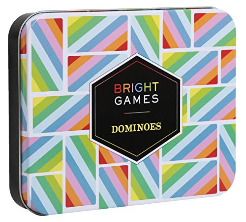 Bright Games Dominoes: (Dominoes Set, Dominoes Game, Family Game Night...
