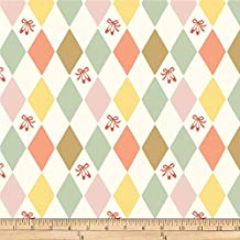 Birch Organic Fabrics Pirouette Harlequinade Multi Fabric Fabric by the Yard