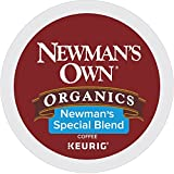 Newman's Own Organics Special Blend, Single-Serve Keurig K-Cup Pods, Medium Roast Coffee, 32 Count