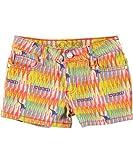 COOGI Little Girls Multi Color Shorts with Rhinestone Design Print (5)