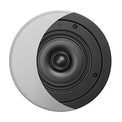 OSD Black 6.5' Super Shallow Mount Weather-Resistant in-Ceiling Speaker Pair - BK-R62SS