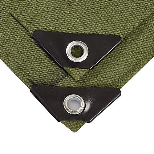 ZBM ZBM Dekzeil, dik weefsel, waterdichte doek, zonnescherm, autozeil, tentzeil voor buiten, duurzaam, waterdicht, waterdicht 3×5m Groen
