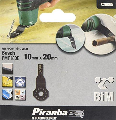 Black+Decker X26065-XJ - Piranha 10 X 20Mm Hcs Plunge Cortar Metal Hoja De Sierra