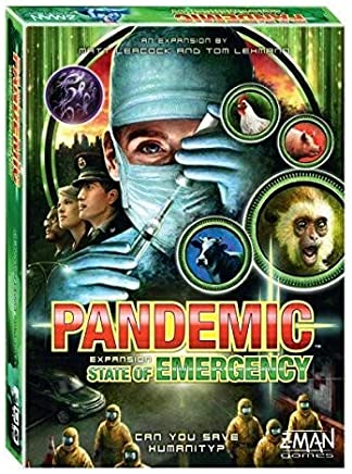 Pandemic State of Emergency Board Game