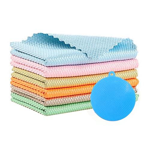 Paños de Microfibra para Platos,Microfibra Trapos de Limpieza,Paño de limpieza,Toallas de cocina,Paños de Cocina,Paño de limpieza,Paños...