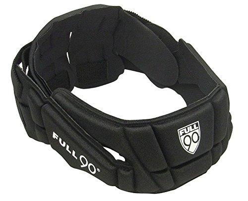 Full 90 Sports Premier Performance Soccer Headgear, Black, Large
