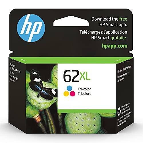 Original HP 62XL Tri-color High-yield Ink   Works...