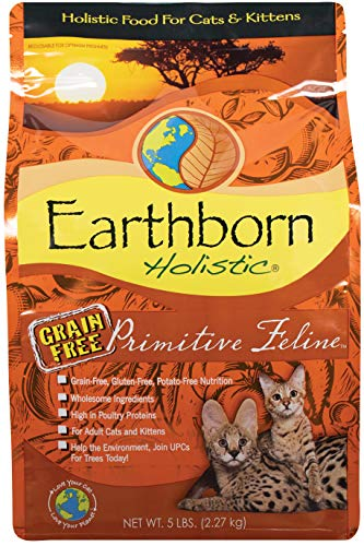 Earthborn Holistic Primitive Feline Grain-Free Dry Cat Food
