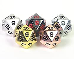 Your geeky husband will love these copper dice for your 7th anniversary
