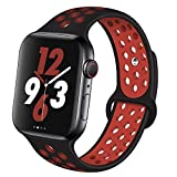 VIKATECH pour Bracelet Apple Watch 42mm(44mm Series 4), Engrener Bracelet Sport Doux...