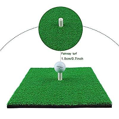 Crestgolf Golf-Schlagmatten SBR-Golfmatten für