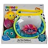 Lamaze Baby Spielzeug 'Mein erstes Aquarium', das hochwertige Kleinkindspielzeug. Das quietschbunte Aquarium mit 4 Kuscheltieren fördert Motorik und ist das perfekte Kinderspielzeug und Kuscheltier