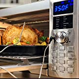 NUWAVE BRAVO XL 1800-Watt Convection Oven with Crisping and Flavor Infusion Technology (FIT) with...