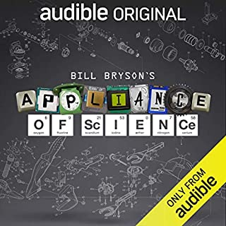Bill Bryson's Appliance of Science audiobook cover art