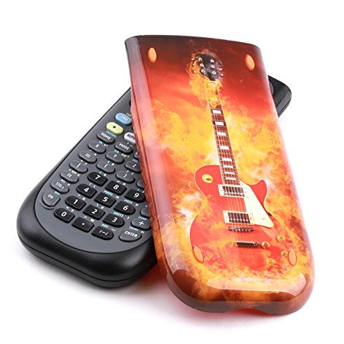 Guerrilla Hard Slide Case-Cover for TI-84 Plus, TI 84-Plus C Silver Edition, TI-89 Titanium Graphing Calculator, Guitar Photo #8